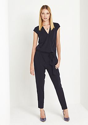 Jumpsuit with sophisticated details from comma