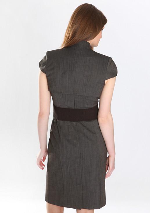 beb5d5389dbb0b ... Klassisch elegantes Stretchkleid in femininer, figurbetonter Passform  mit passendem Bolero ...