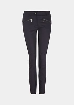 Elegant casual trousers with fine details from s.Oliver