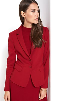 Elegant blazer with smart details from comma