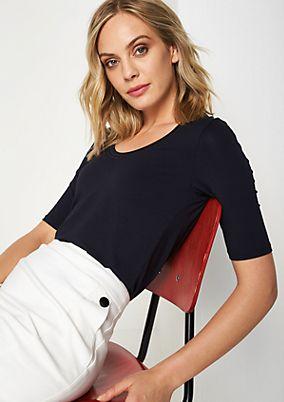 Jerseyshirt mit aufregenden Details