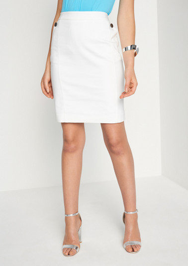 Elegant business skirt with sophisticated details from comma