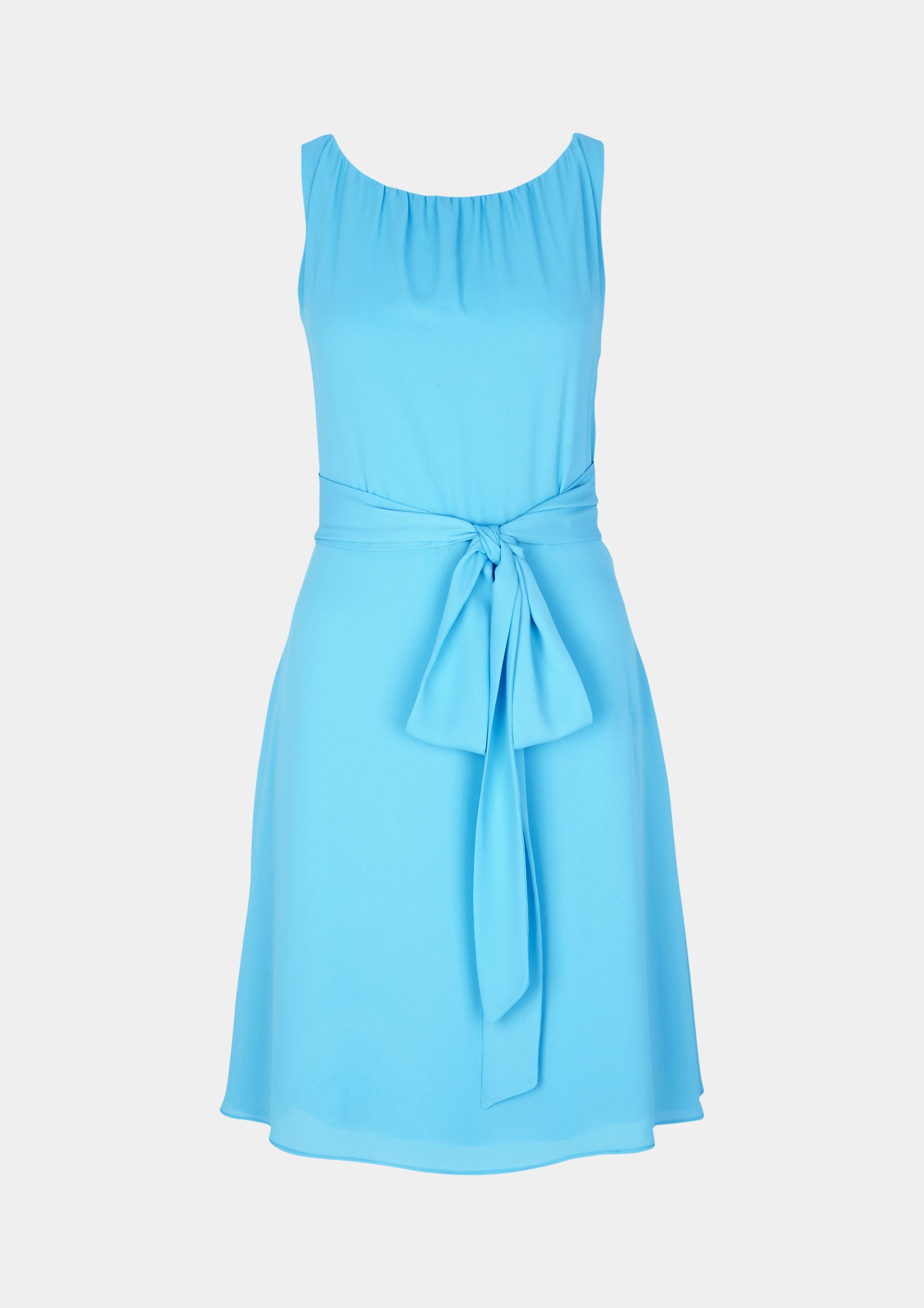 Abendkleid   Bekleidung > Kleider > Abendkleider   Blau/grün   Obermaterial: 100% polyester  futter: 100 % viskose   comma