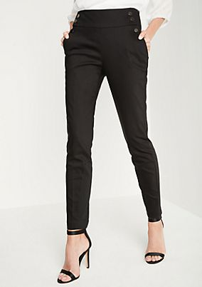 Business trousers with fine details from comma