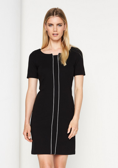 Business dress with short sleeves from comma