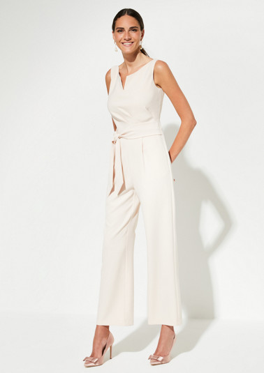 Jumpsuit with sophisticated draping from comma