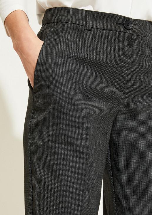 Edle Businesspants mit raffinierten Details