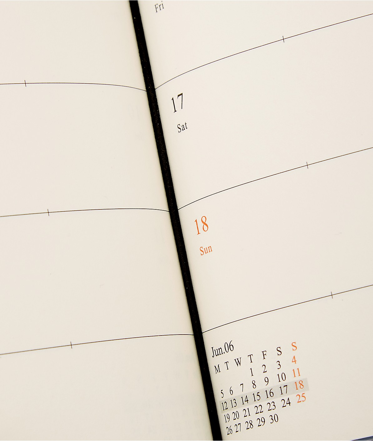 CalendarB 2017 weekly diary from liebeskind