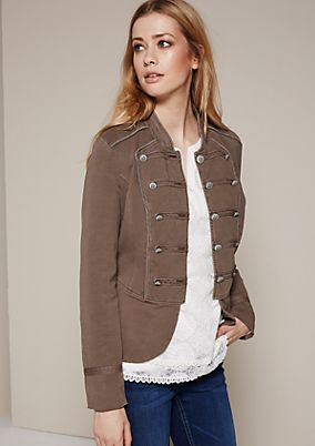Extravaganter Blazer im Military-Look