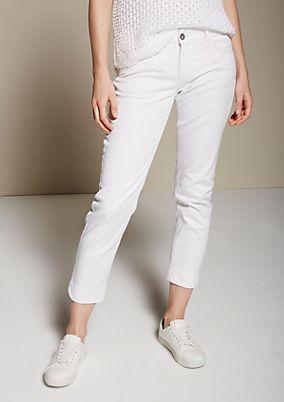 Feminine 7/8-Jeans mit schönen Detailarbeiten