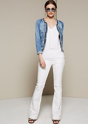 Casual summer jeans in a neo hippie look from s.Oliver