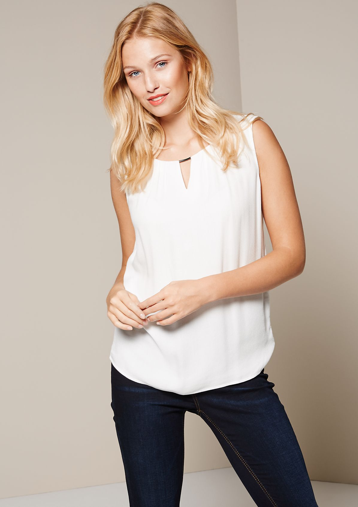 Classic top with fine details from s.Oliver