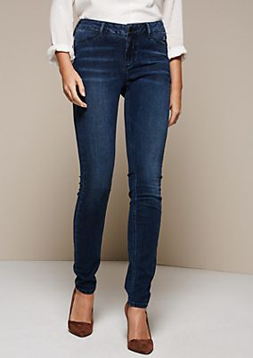 Leichte Jeans in aufregender Waschung