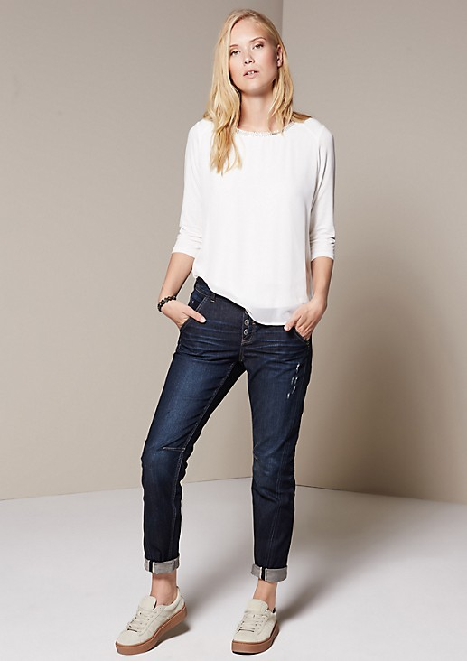 Classic jeans with a vintage finish from s.Oliver