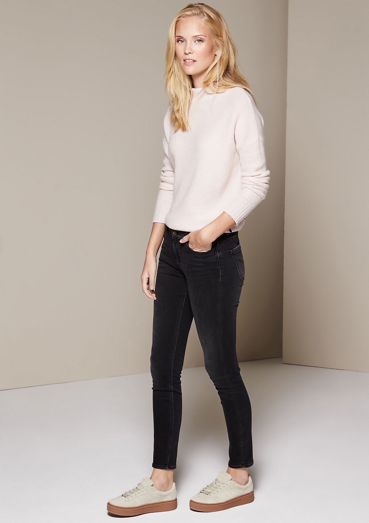 Sporty jeans in a vintage look from s.Oliver