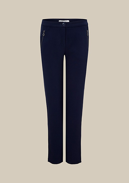 Extravagant casual trousers with beautiful details from comma