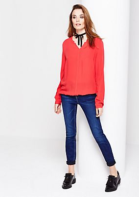 Lightweight blouse with sophisticated details from s.Oliver
