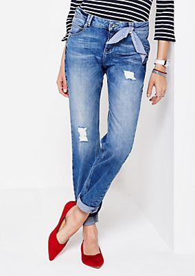 Lässige Boyfriend-Jeans in Vintage-Optik