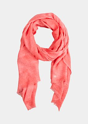 Delicate scarf in a beautiful wash from s.Oliver