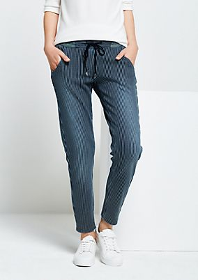 Casual trousers in a denim look from s.Oliver