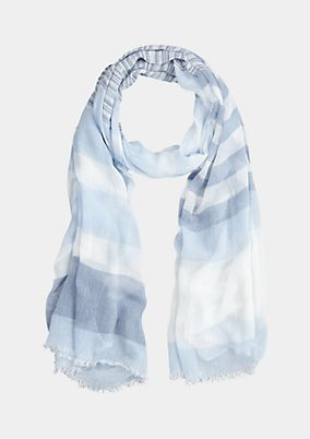Delicate scarf with striped pattern from s.Oliver