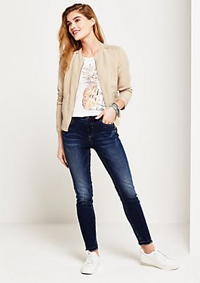 Slim fit jeans in a vintage look from s.Oliver