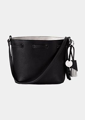 Casual bucket bag in faux leather from s.Oliver