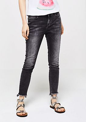 Jeans im roughen Used-Look