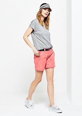 Bermudas in a summery vintage look from s.Oliver