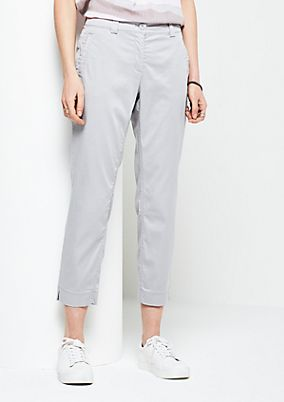 7/8-length casual trousers from s.Oliver