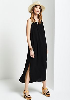 Lightweight crêpe dress in a maxi look from s.Oliver