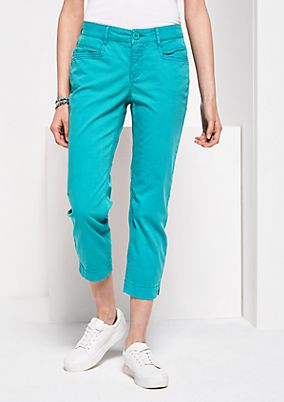 7/8-length summer trousers from s.Oliver
