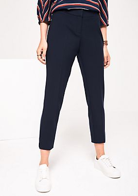 Business trousers with sophisticated details from s.Oliver