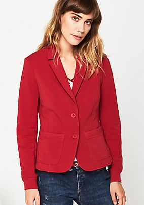 Sporty blazer with decorative details from s.Oliver