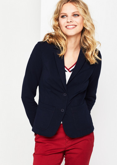 Sporty blazer with decorative details from comma