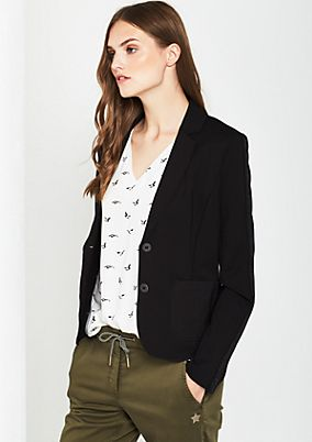 Extravagant blazer with glittery decorations from comma