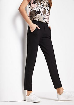 Elegant business trousers with great details from comma