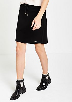 Short business skirt with sophisticated details from s.Oliver