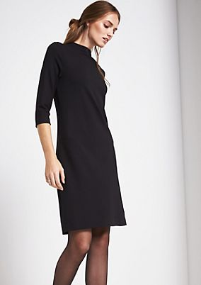 Casual dress with 3/4-length sleeves from s.Oliver