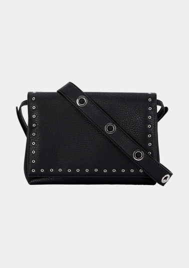 Faux leather shoulder bag from comma