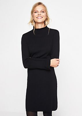 Elegant knit dress with great details from s.Oliver