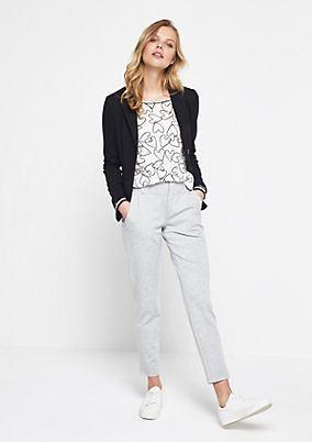 Cool business trousers with smart details from comma