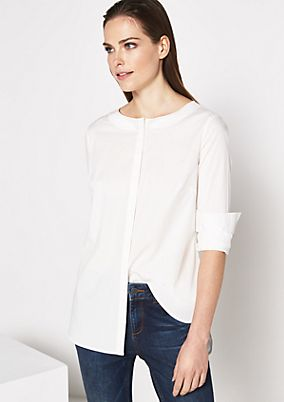 Extravagant business blouse with sophisticated details from comma