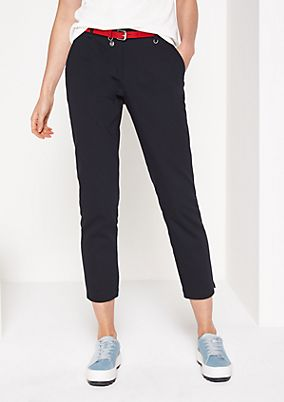 Elegant ankle-length business trousers from comma