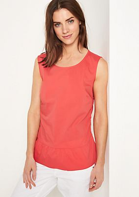 Sleeveless blouse from comma