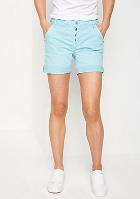 Pigment dye twill shorts from comma