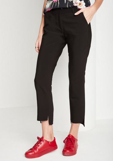 7/8-length business trousers from comma