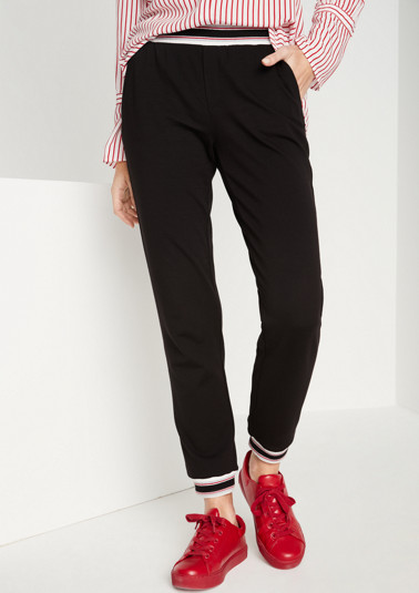 Casual 7/8-length lounge trousers from comma