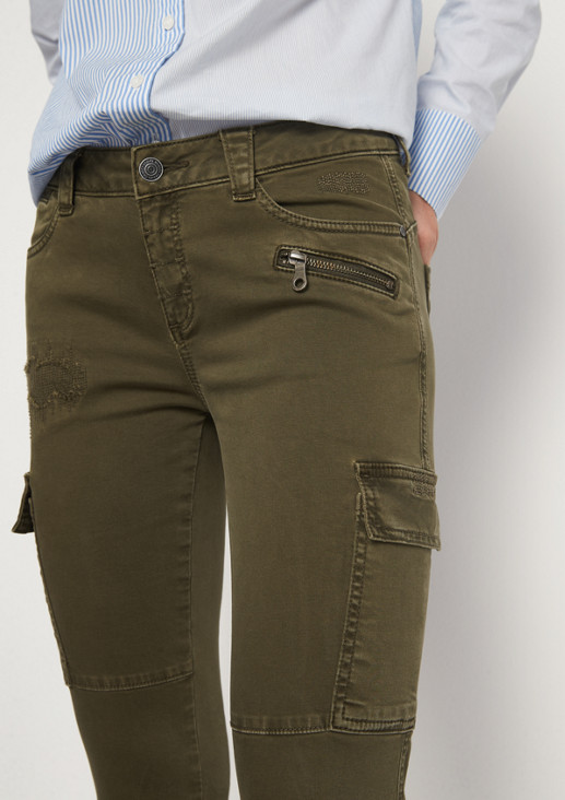 Vintage-style cargo trousers from comma