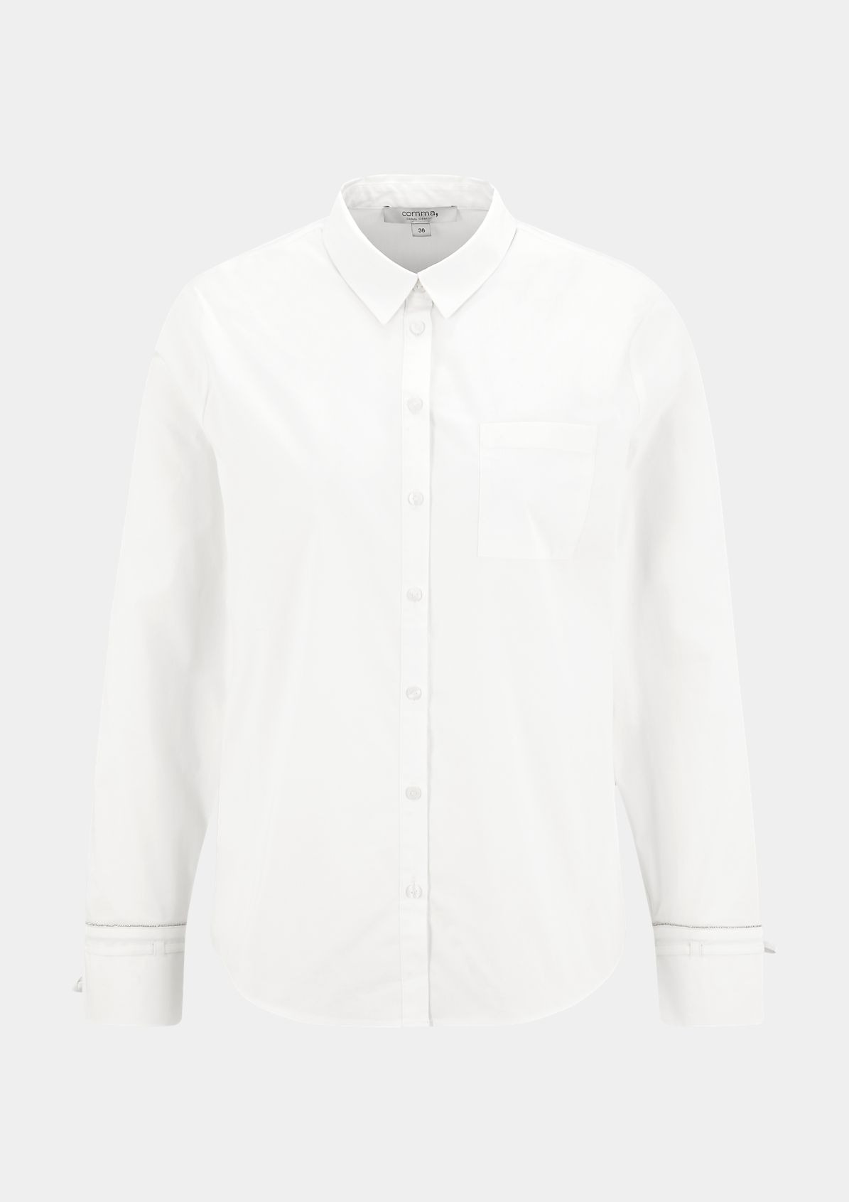 Business blouse with a breast pocket from comma